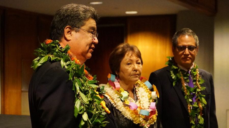 Senate President Kouchi Sets Tone For 2018 Session