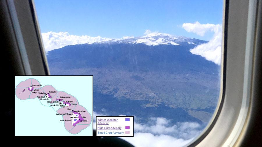 Winter Weather Advisory: Mauna Kea Access Road Closed