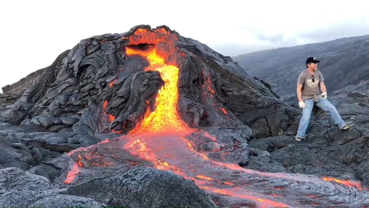 video kilauea volcano east rift zone eruption update