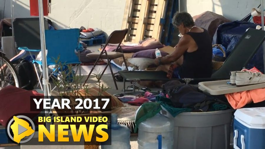 YEAR 2017: Kona Homeless