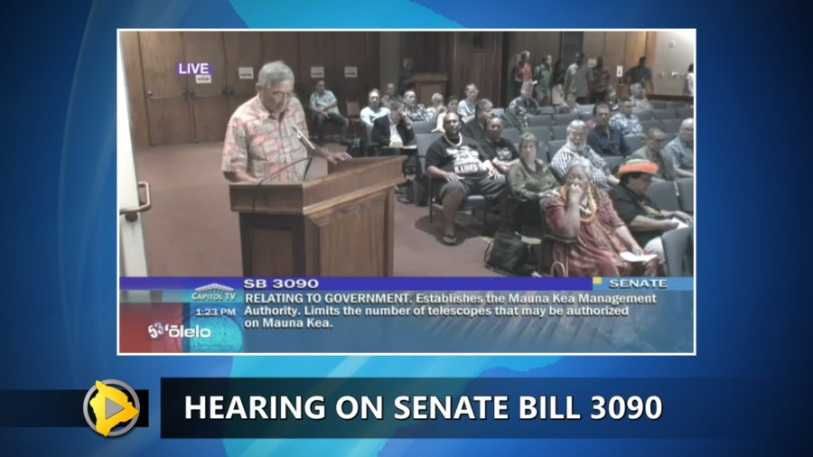 VIDEO: Mayor Kim Testifies On Mauna Kea Management Bill