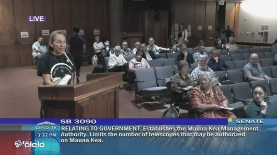 Proposed Mauna Kea Management Authority Bill Changed