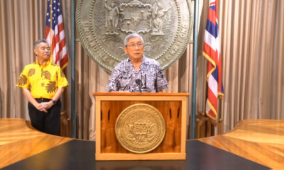 VIDEO: Mayor Kim Joins Governor For HI-EMA Report Conference