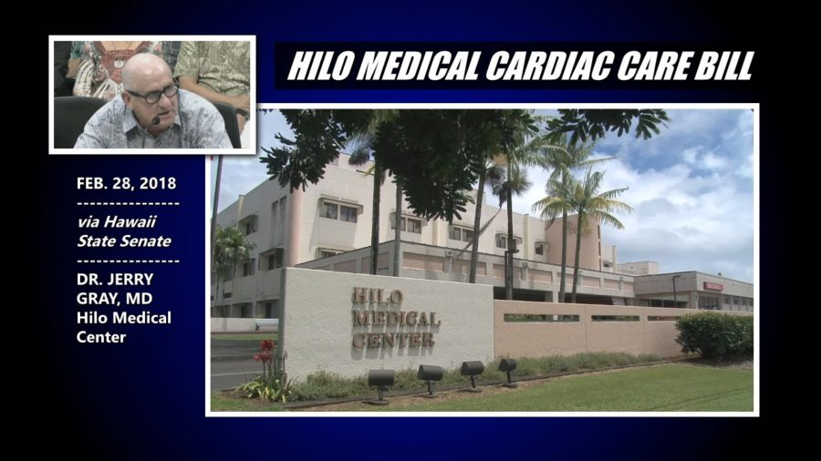 VIDEO: Hilo Medical Center Cardiac Care Bill Advances