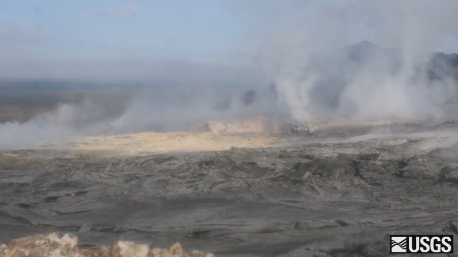 VIDEO: Timelapse Recording Shows Small Volcano Collapse
