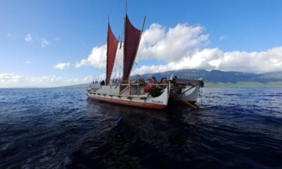 First Stop Milolii: Hokulea Returns To Hawaii Island, March 25