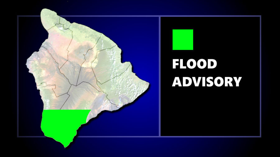 Flood Advisory Posted For Ka'u As Thunderstorm Rolls In