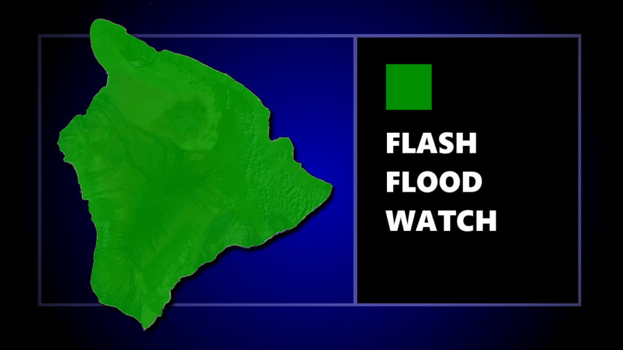 Civil Defense Message: Hawaii Flash Flood Watch, High Surf Advisory