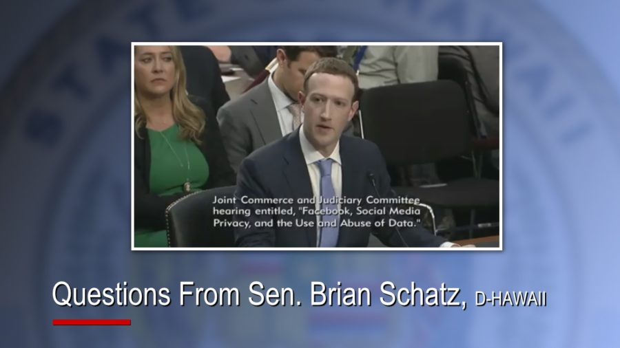 VIDEO: Hawaii Senators Question Facebook CEO Mark Zuckerberg