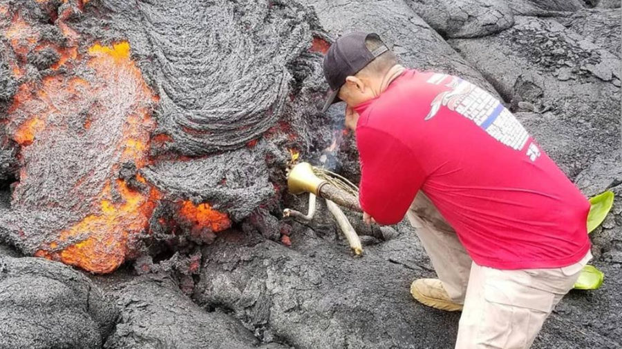 """Lava Flow Lights Special Olympics Hawaii """"Flame of Hope"""""""
