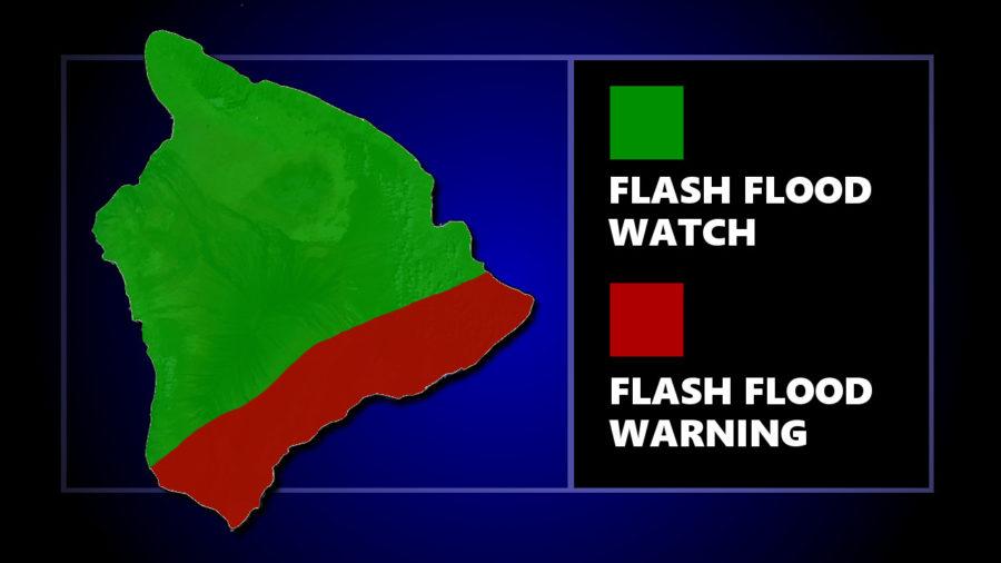 Flash Flood Warning Issued For Puna, Ka'u