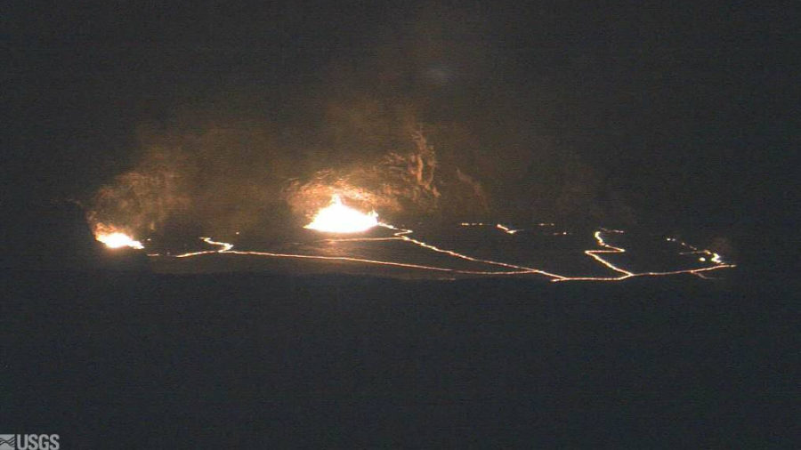 As Volcano Lava Lake Rises High, New Report Published