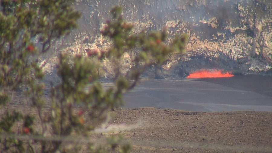 VIDEO: Lava Lake Overflow Anticipated By Onlookers