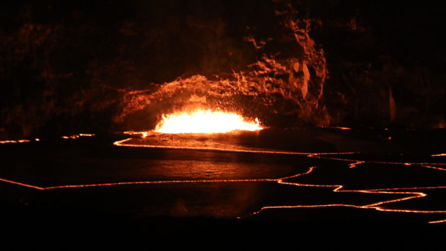 Kilauea Lava Lake Overflow Captured In Various Views
