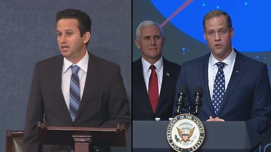 VIDEO: New NASA Head Sworn In Over Sen. Schatz' Objection