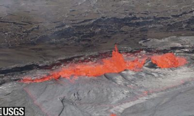 VIDEO: Lava Lake Overflows Continue, Cracks Seen On Pu'u O'o