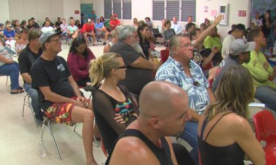 VIDEO: Kalapana Residents, Vendors Pack Meeting