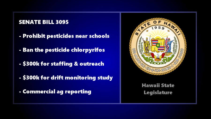 Agreement On Bill Restricting Pesticides Near Schools, Ban Chlorpyrifos
