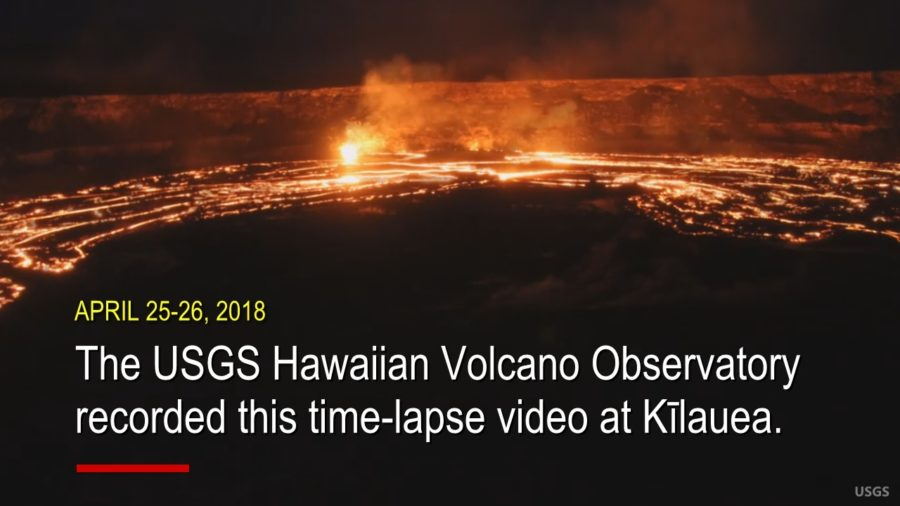 VIDEO: Time-lapse Captures Sprawling Volcano Lava Overflow