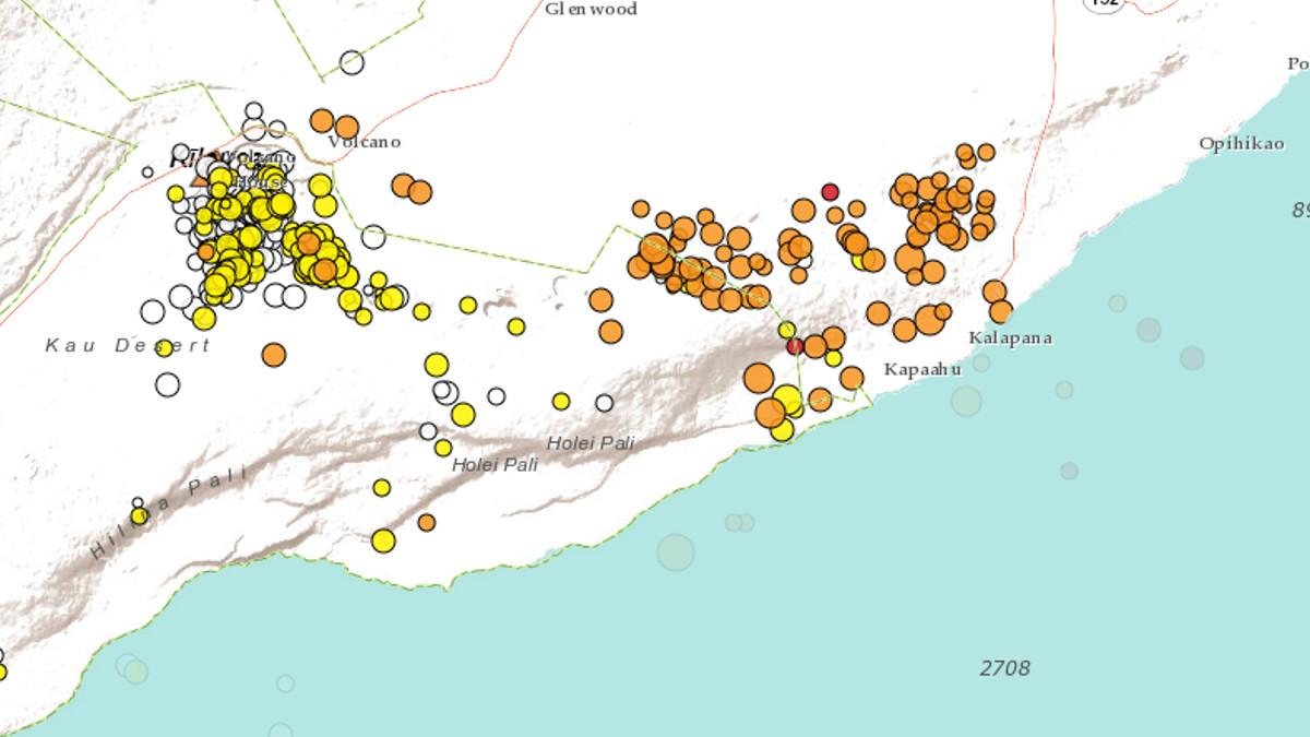 New Volcano Notice: Earthquakes Increase After Pu'u O'o ...
