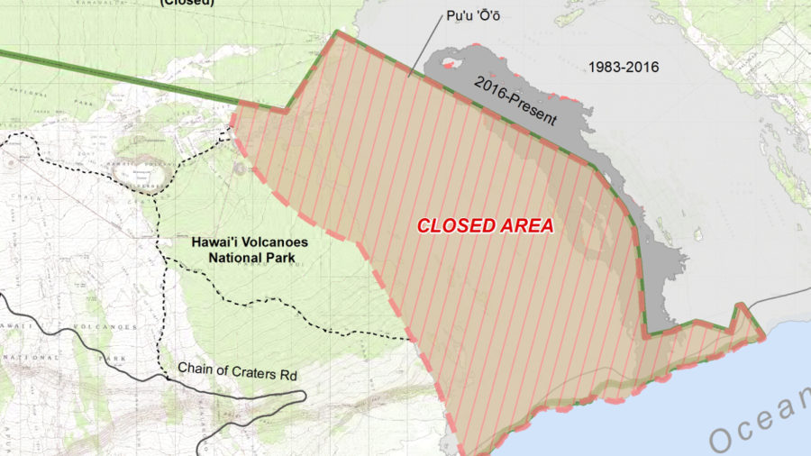 4 PM Update: Parts Of Hawaii Volcanoes National Park Closed