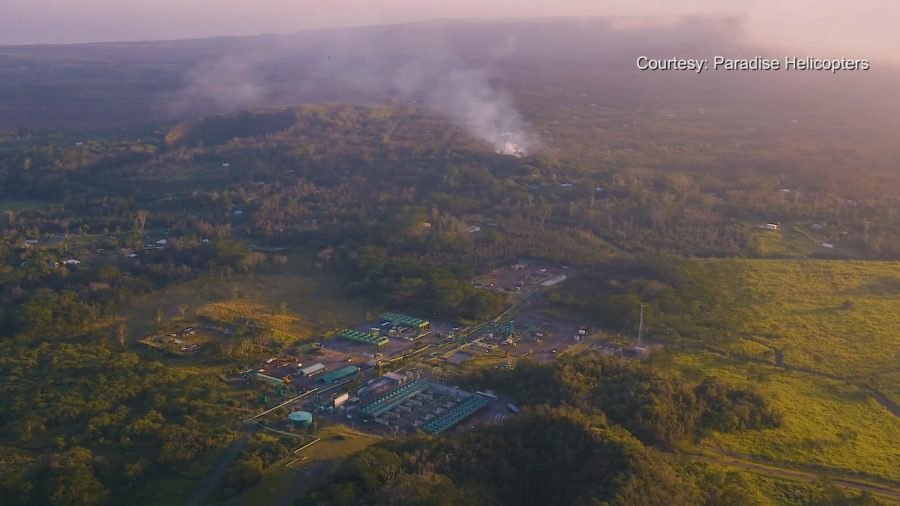 Lava Eruption Forces Shut Down Of Puna Geothermal Venture