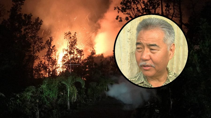 VIDEO: Governor Ige On Hawaii Island For Eruption Response