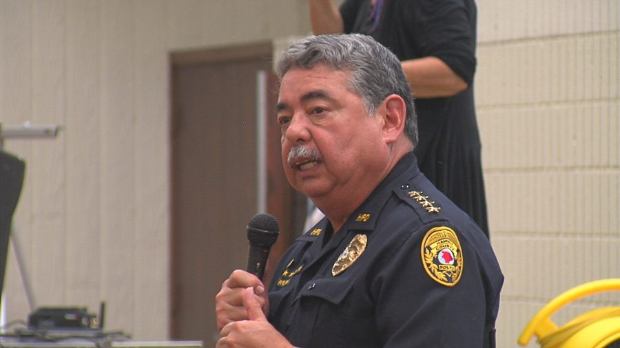 VIDEO: Police, Fire Chiefs Talk Eruption Response