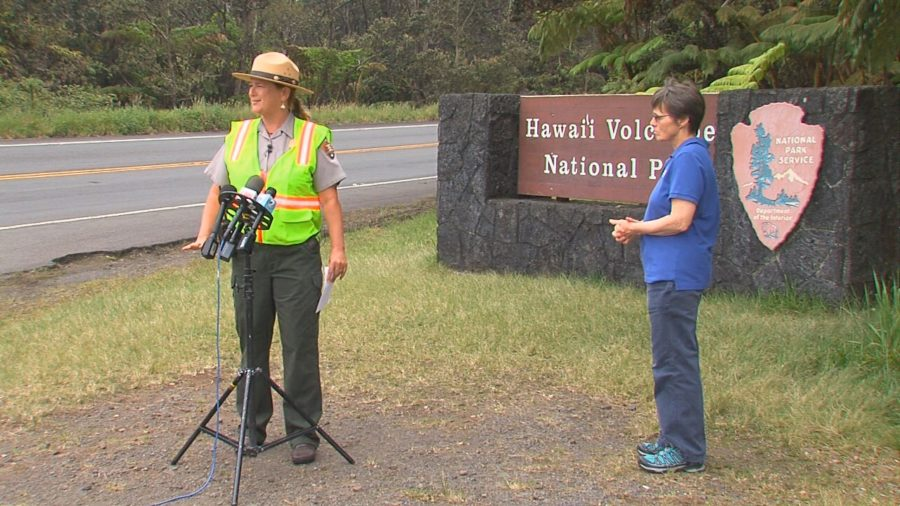 Hawaii Volcanoes National Park Re-Opens, Partially