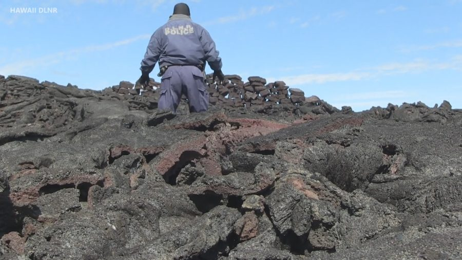 VIDEO: Hawaii Cracks Down On Lava Rock Removal