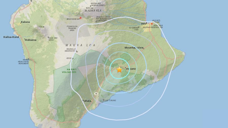 Magnitude 4.4 Earthquake Rumbles At Kilauea Summit