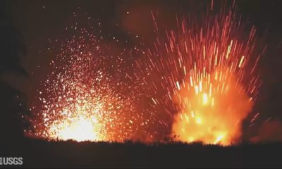 "VIDEO: ""New Lava"" Arrives, Eruption Activity Increases"