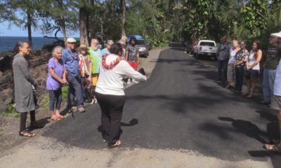 VIDEO: Beach Road Paved In Case Of Puna Evacuation