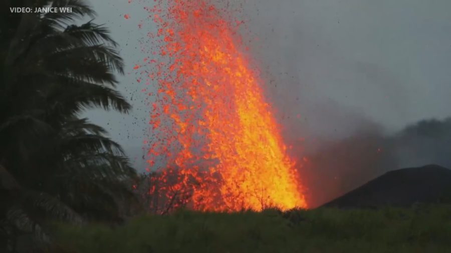 VIDEO: 7 am Eruption Update – Four Homes Destroyed, Summit Explosion