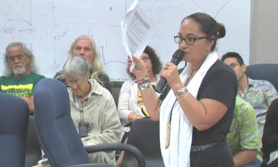 VIDEO: Public Testimony On Mauna Kea Management Policies
