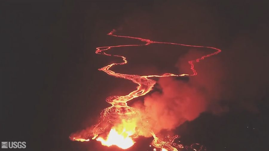 VIDEO: 1 pm Eruption Update – New Lava Flow In Leilani Estates