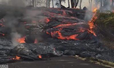 VIDEO: 2 pm Eruption Update – Leilani Lava Flow Forces Evacuations