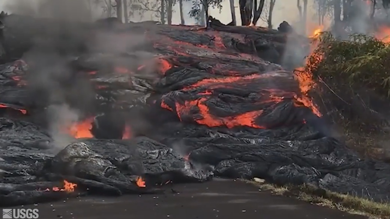 Big Island Flow Lava
