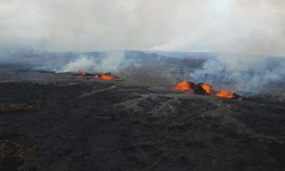 VIDEO: 7 pm Eruption Update – Lava Has Covered 3.7 Square Miles