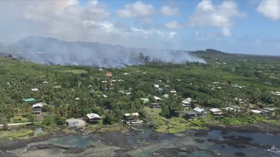 VIDEO: Kapoho Lava Flow Update, 11 am Conference Call
