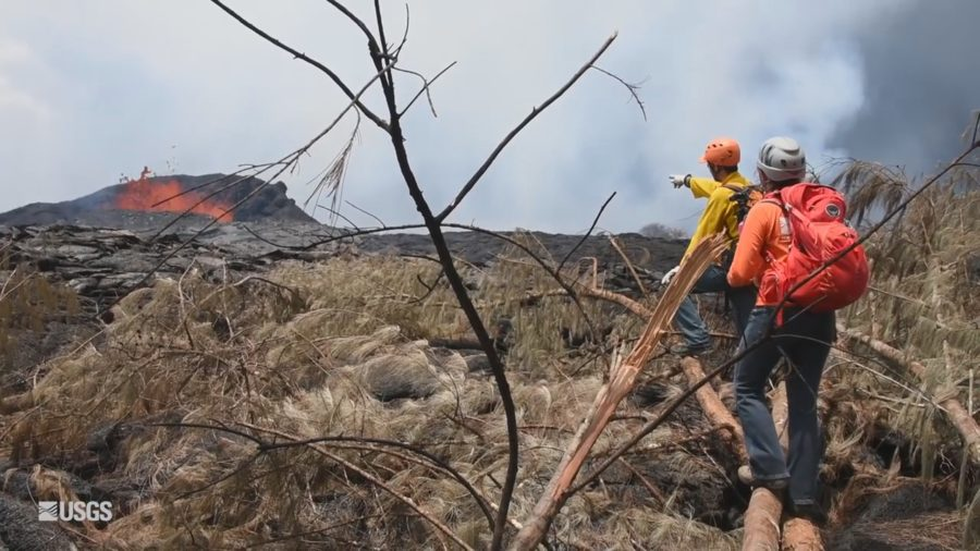 VIDEO: Eruption Takes Emotional Toll, Even On Scientists