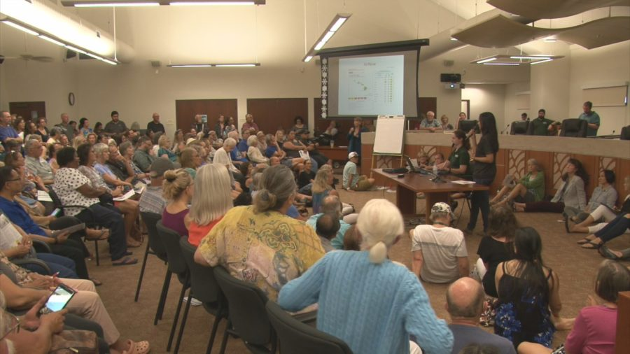 VIDEO: Kona Packs Meeting Over Air Quality Concerns