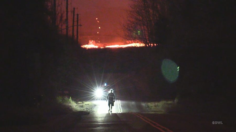 VIDEO: 3pm Eruption Update – Escorts For Leilani Estates, East Of Pomaikai
