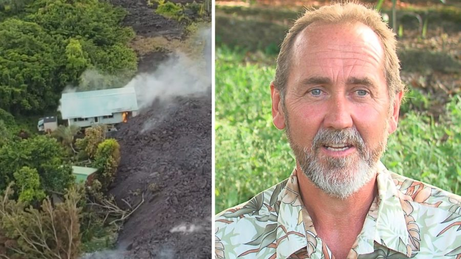 VIDEO: After Lava Takes Home, Man's Calming Message Unchanged