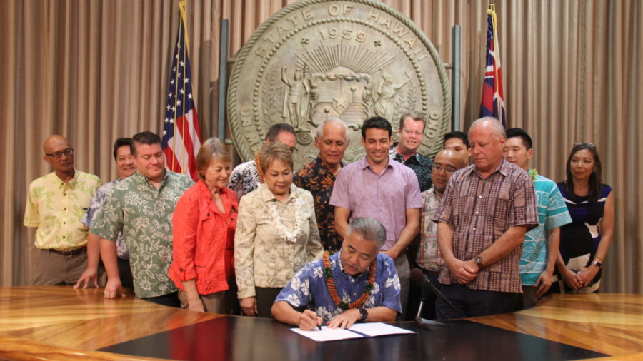 Governor Ige Signs Bill Banning Chlorpyrifos In Hawaii