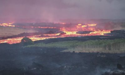 VIDEO: 2 pm Eruption Update – Ocean Entry Plume Impacting Puna Weather