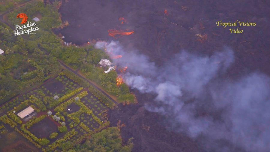 VIDEO: 7 am Eruption Update – Summit Collapse Explosion, Kapoho Oozing