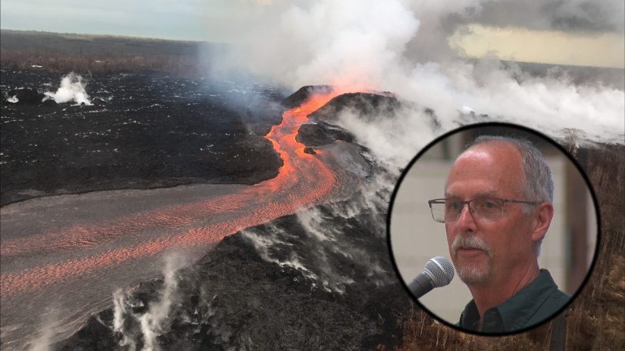 VIDEO: USGS Gives An Eruption Update During Pahoa Meeting