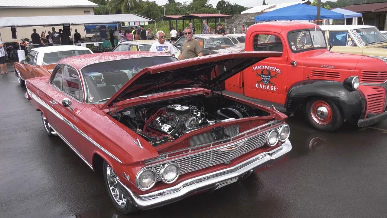 Hawaii CC Auto Show Revs Up In Hilo - Car show hawaii
