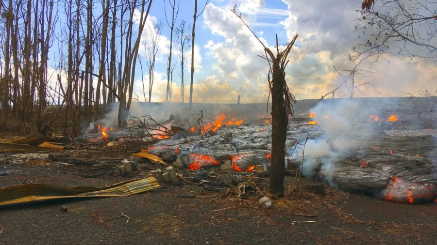 VIDEO: 1 pm Eruption Update – Lava Overflow Takes More Homes In Leilani